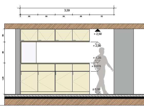 Küchenplanung ansicht  Baldauf • Prill | Architekten | PartGmbB - Passivhaus: Haus Baldauf